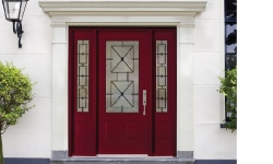 Wrought Iron Glass Front Door (Newcastle)