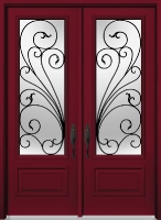 Tru Tech Arteferro Turin Glass, Door: 8-EXA-850