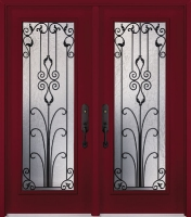 Tru Tech Arteferro Milan Glass, Door: A-0865