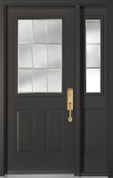 Tru Tech HD Steel Door: B-0615 Sidelite: SB-0615