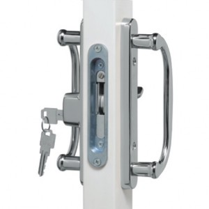 Chrome Legacy Lock Available in Bright or Satin Finish