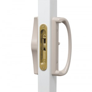 Elite Lock with No Key (standard) Available in White, Black, Ivory or Sandalwood