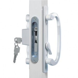 White Legacy Lock Available in Black